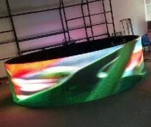 Curved Indoor P3.91/P4.81  Rental LED display