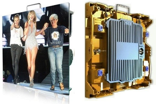 Indoor P1.875 480mmx480mm Rental LED display