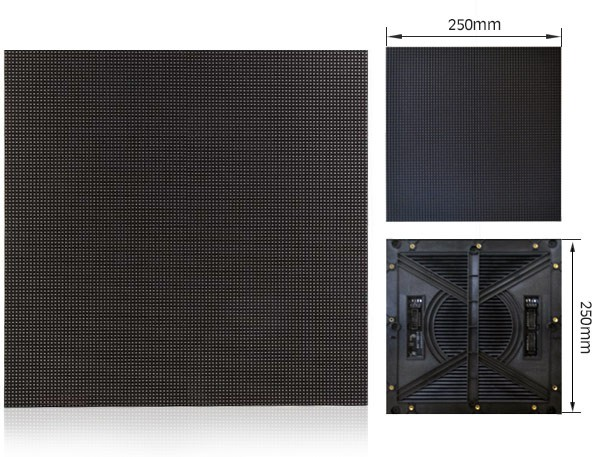 Outdoor P3.91 LED display for events