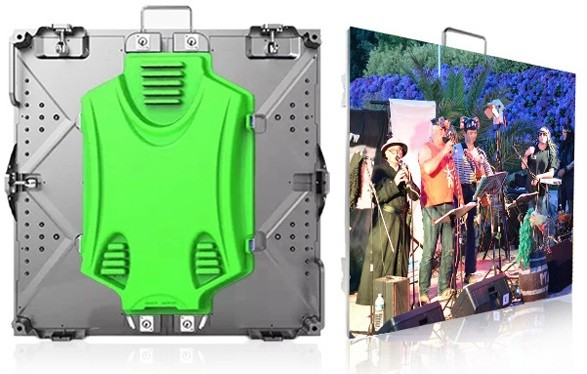 Outdoor P5 640mmx640mm Rental LED display